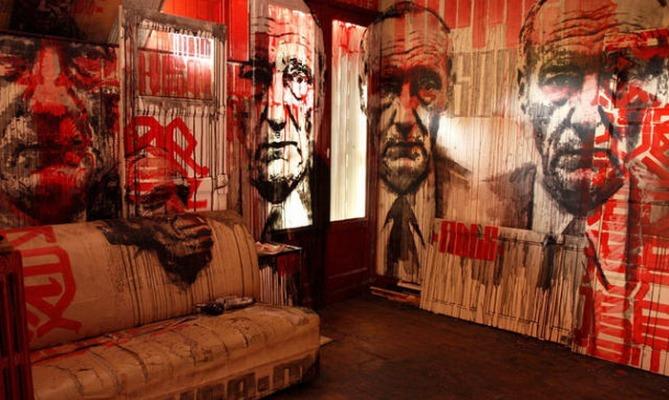 street arte, tour 13, parigi