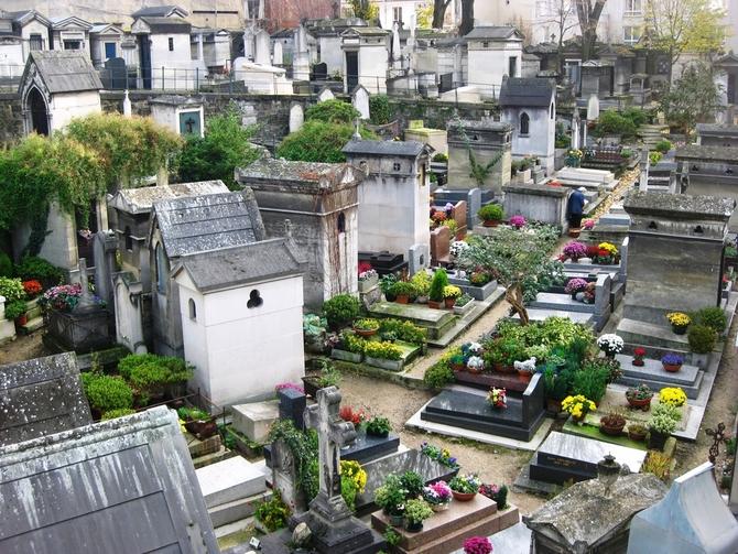 Père-Lachaise, Parigi