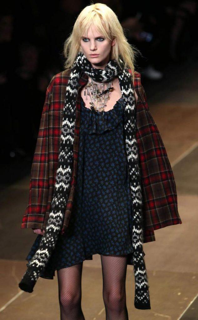 Cappotto e abito Yves Saint Laurent