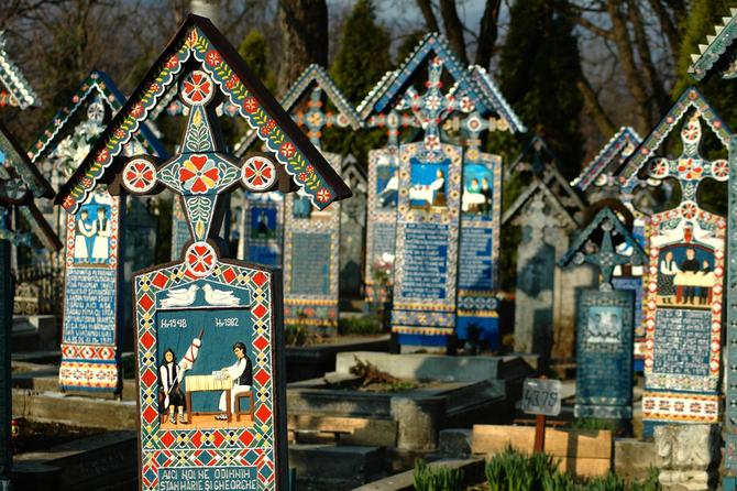 Cimitero allegro, Sapanta, Romania