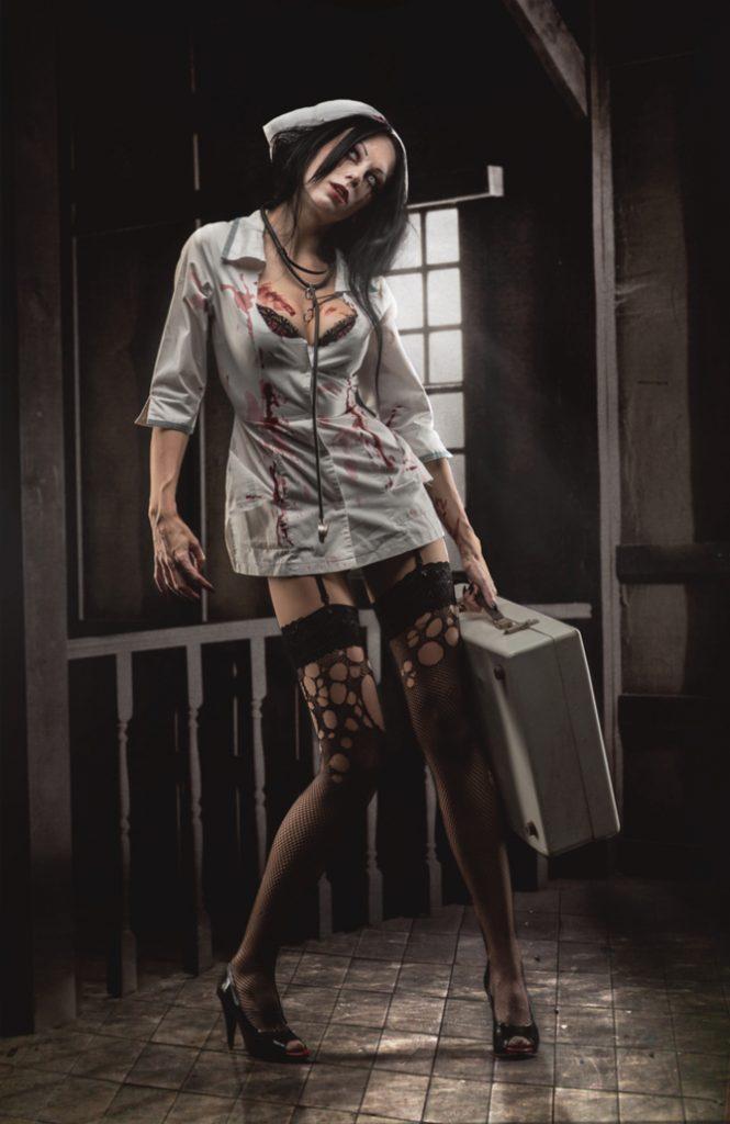 Infermiera zombie