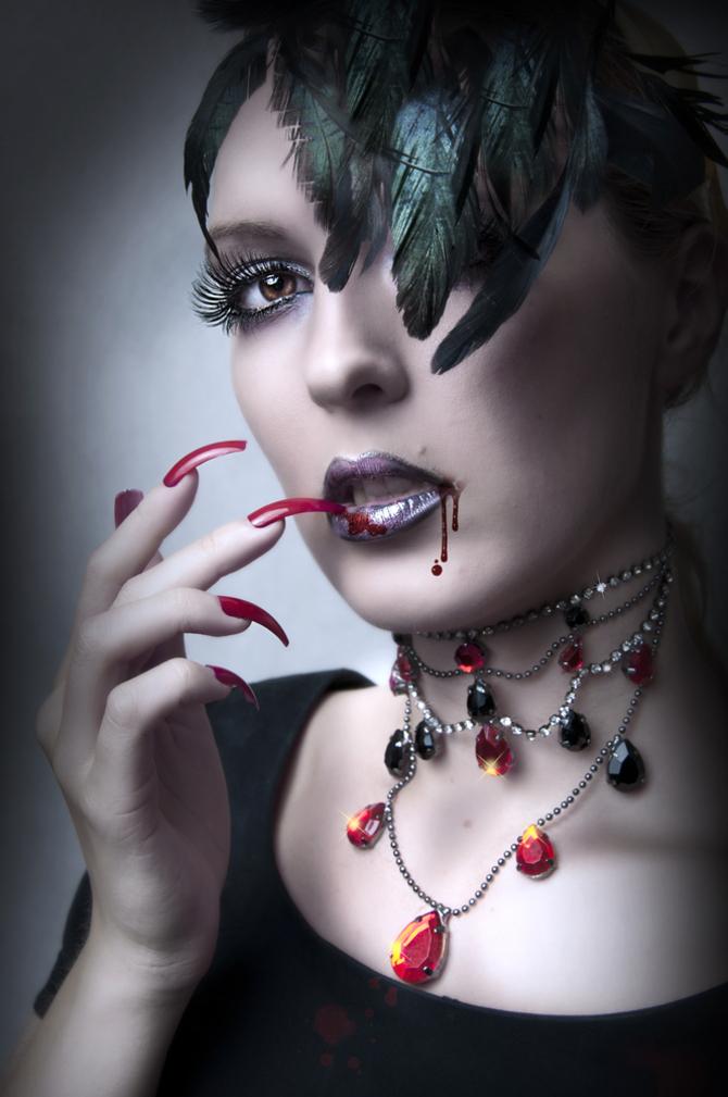 Trucco vampiressa