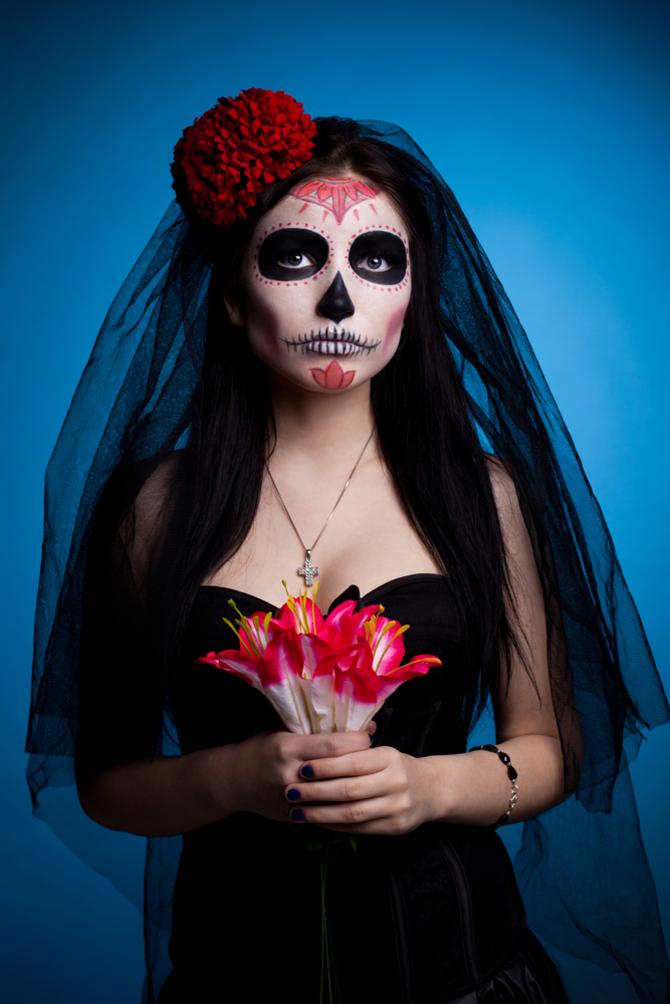 Sposa cadavere messicana