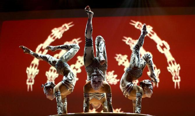 Le Cirque du Soleil torna in Italia