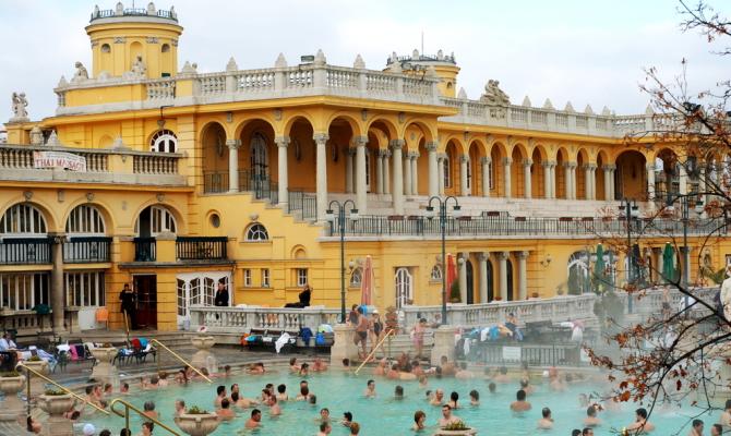 Terme a Budapest, per un weekend da sogno