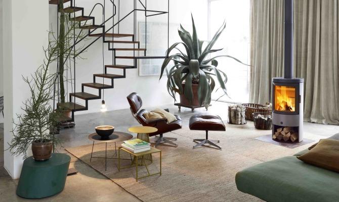 Stufe e caminetti, complementi d'arredo di design