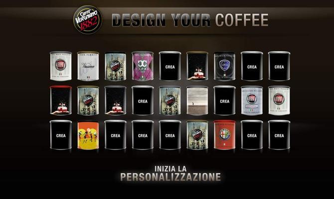 Vergnano Caffè crea la tua lattina