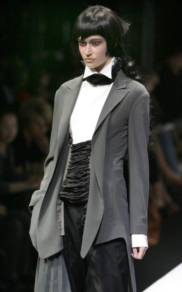 Camicia, giacca e pantaloni Yohji Yamamoto