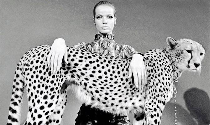 "Animalier: torna la moda ""Verushcka"""