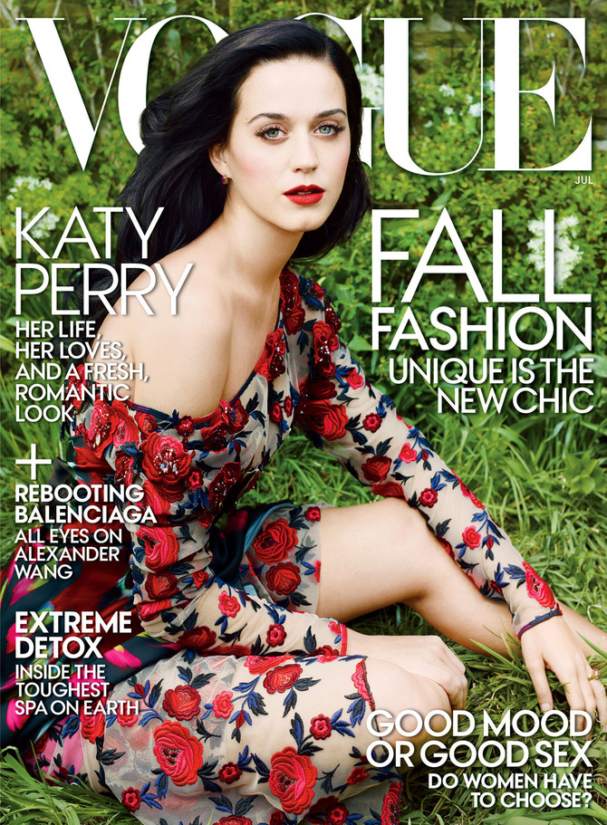 Katy Perry su Vogue