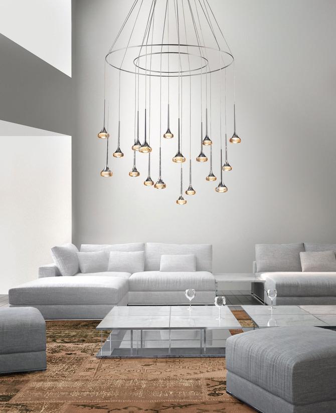 Lampadari per far luce sul design - www.stile.it