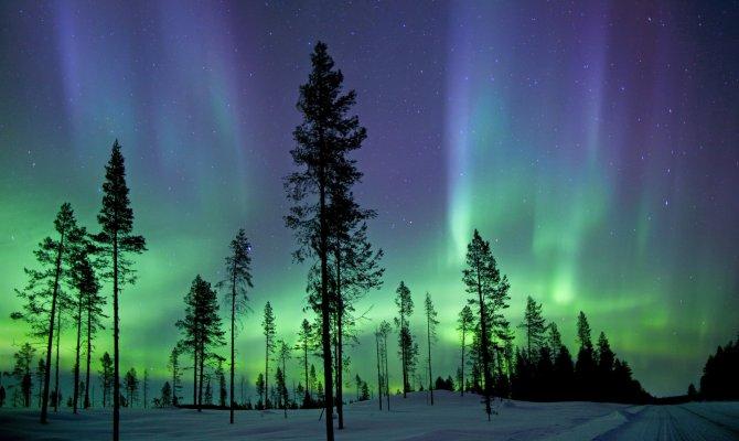 Aurora Boreale, Circolo Polare Artico