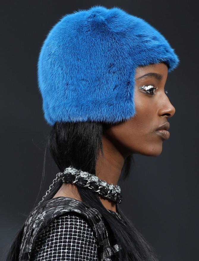 Cappello in pelliccia Chanel