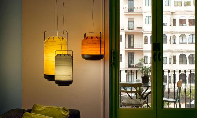 Lampadari per far luce sul design