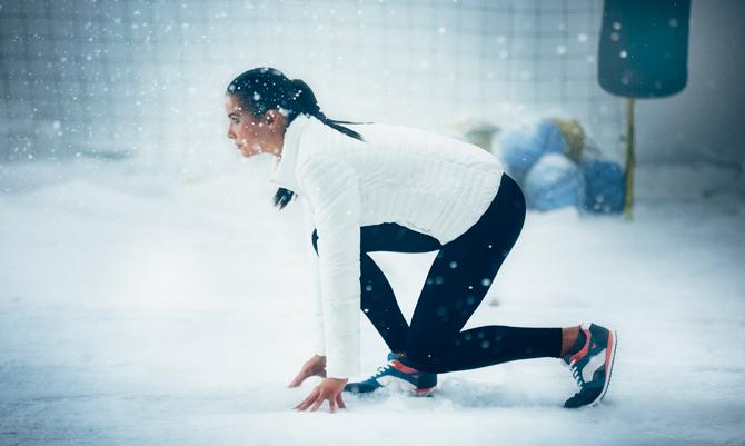Correre in inverno è un'impresa di Stile