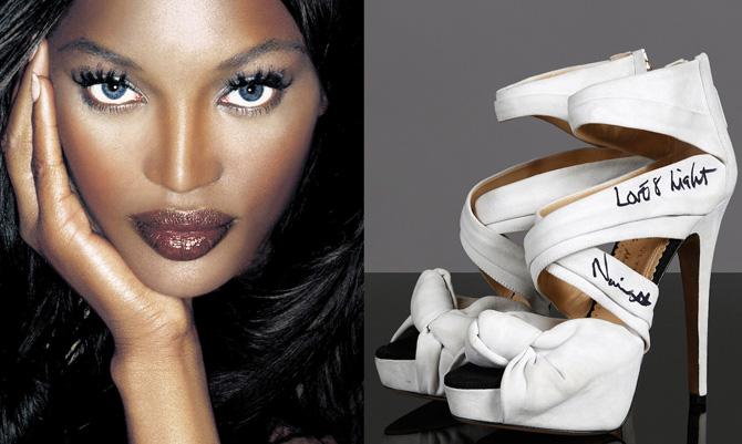Le scarpe delle celebrità fanno del bene