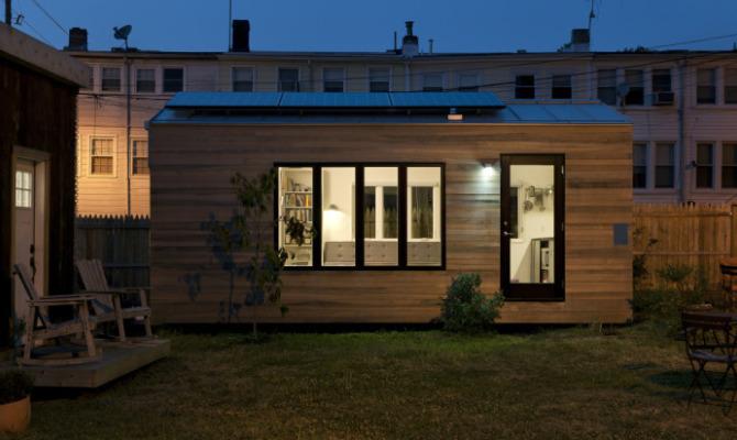 Casa, piccola casa: un quartiere in miniatura a Washington