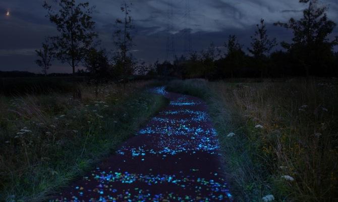 Olanda, la pista ciclabile di Van Gogh