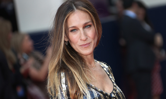 Sarah Jessica Parker alla prima del musical  Charlie and the Chocolate Factory  a Londra