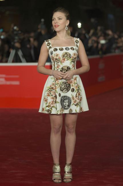Scarlett Johansson al Film Festival di Roma