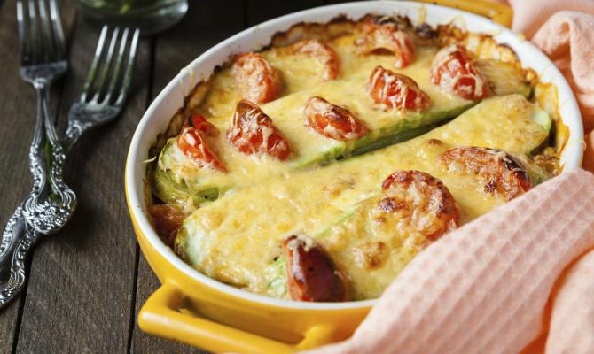 Zucchine in Crosta per soddisfare i desideri Gluten Free