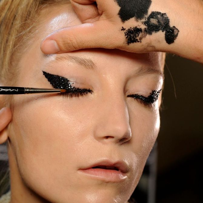 Make up Haider Ackermann