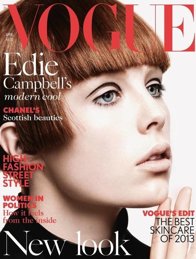 Edie Campbell su Vogue