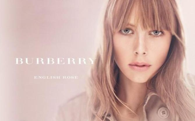 Edie Campbell per Burberry