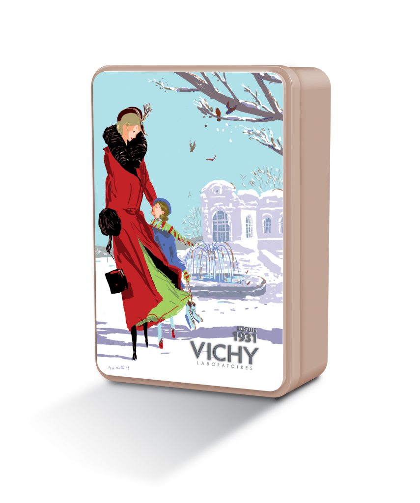 Metal Box Vichy