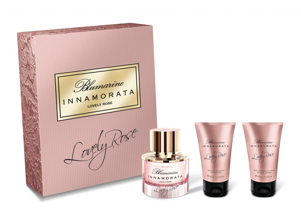 Blumarine Lovely Rose Weekend Set