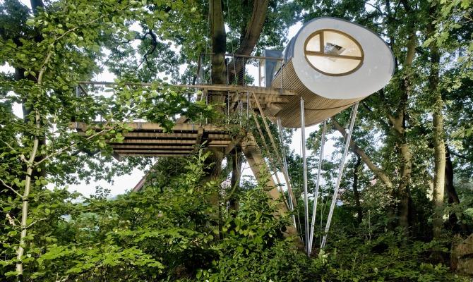 Tree houses, progetti visionari di case sugli alberi