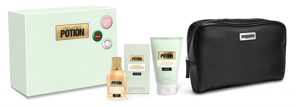 Dsquared2 Potion for Woman Beauty Pin Set