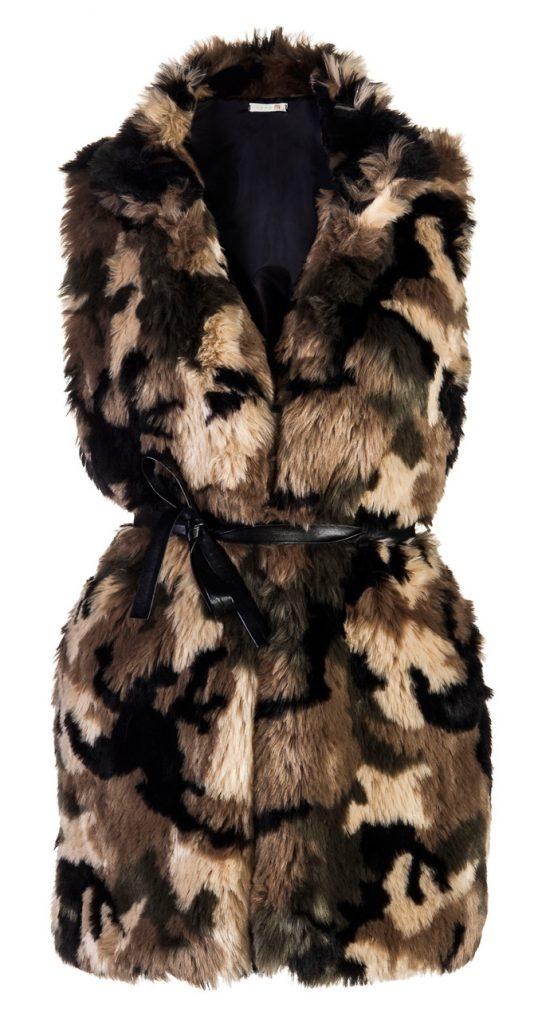 Gilet eco-pelliccia Miss Miss