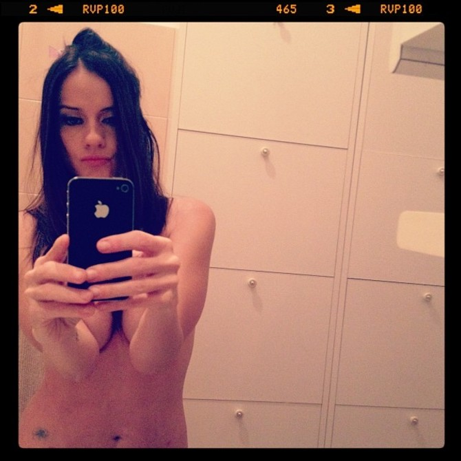 Selfie Chiara Iezzi