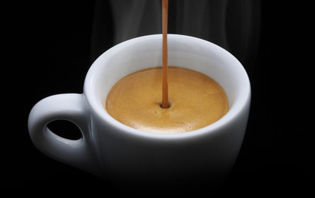 Un caffè. Come dico io.