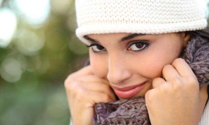 Allarme inverno: proteggi la pelle dal freddo