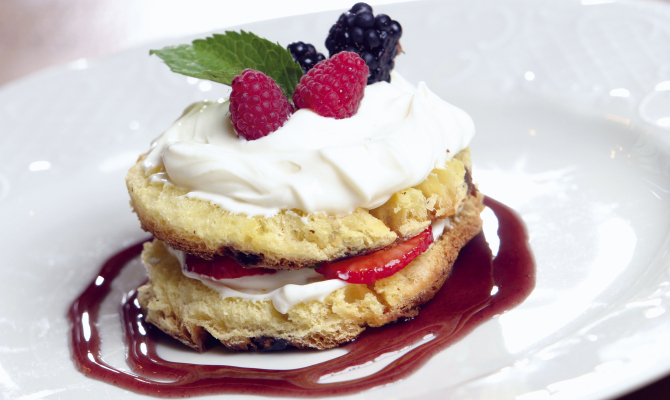 Panettone mousse