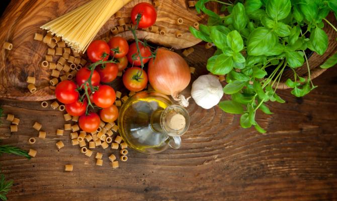 La dieta mediterranea rivisitata da Chef Rubio