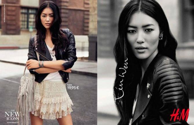 Liu Wen per H&M