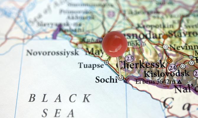 Sochi mappa
