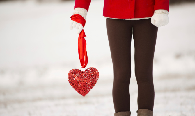 donna, cuore, san valentino, amore