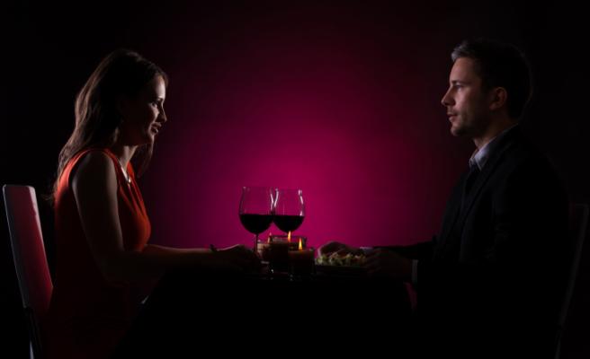 cena, coppia, San Valentino