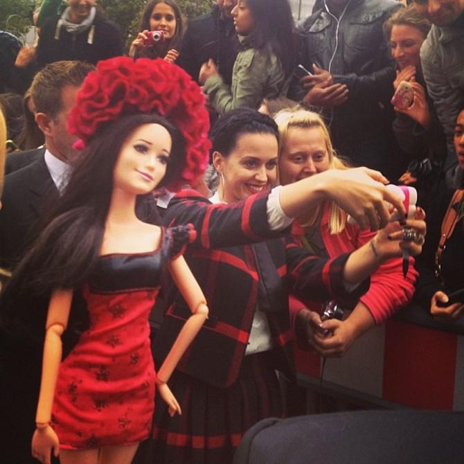 Barbie Birkin con Katy Perry
