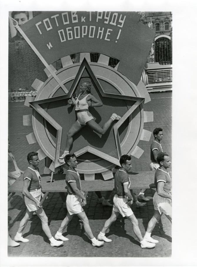 Alexander Rodchenko - Sports' parade, 1936
