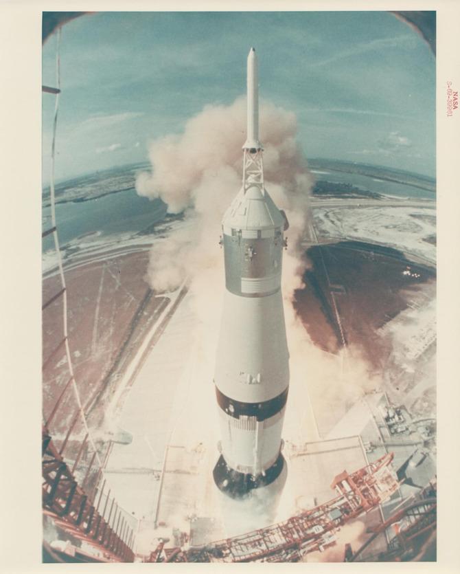 Il lancio dell'Apollo 11
