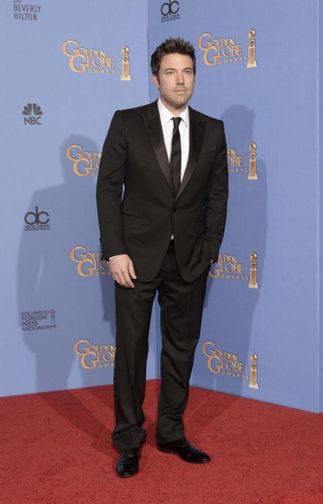 Ben Affleck ai Golden Globes