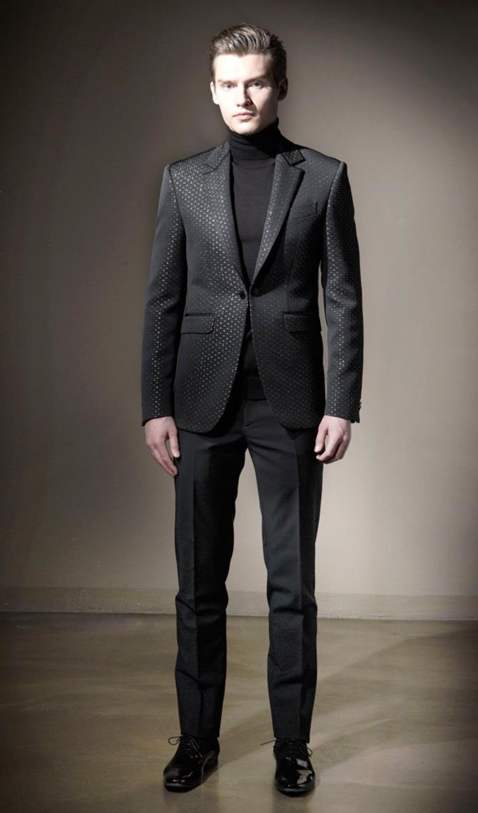 Total Black Uomo Matrimonio : Milano moda uomo il meglio per voi stile
