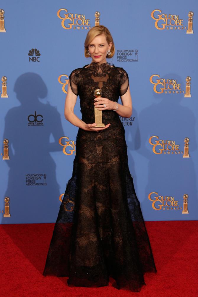 Cate Blanchett ai Golden Globes