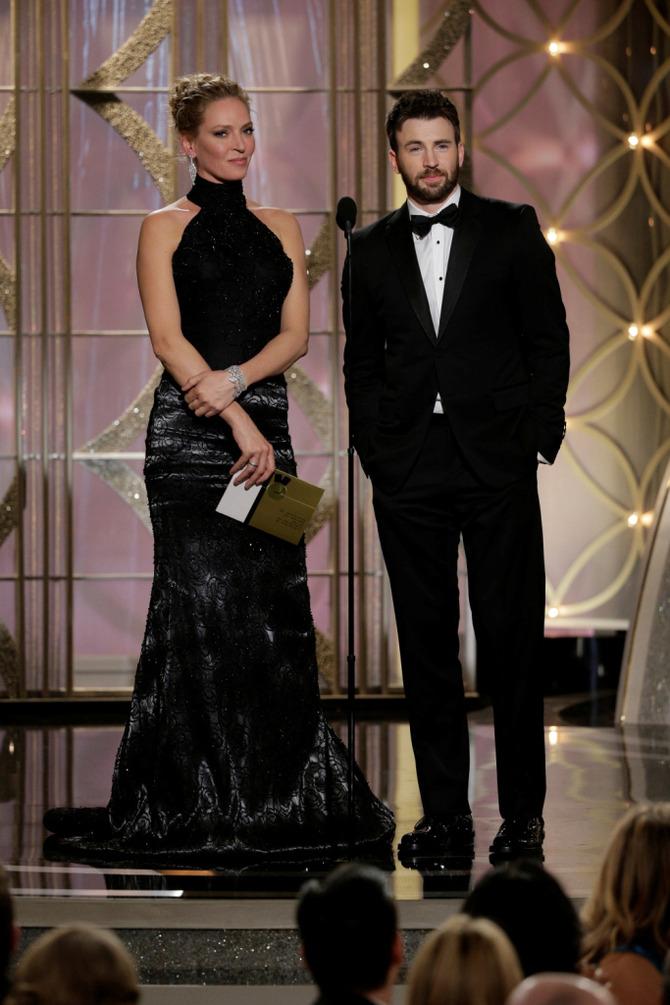 Chris Evans ai Golden Globes