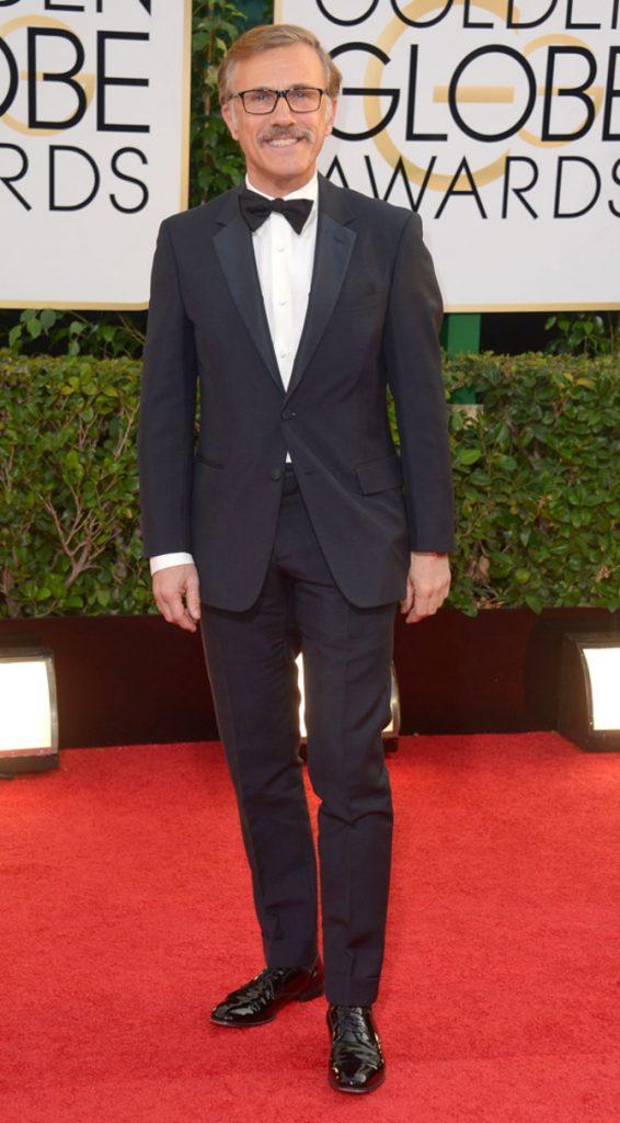 Christoph Waltz ai Golden Globes